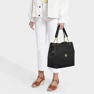 Tory Burch Chelsea Slouchy Leather Shoulder Tote